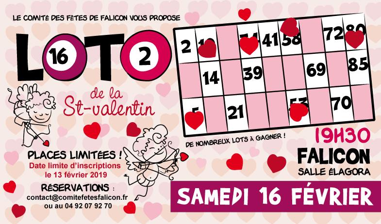 Loto de la St-Valentin