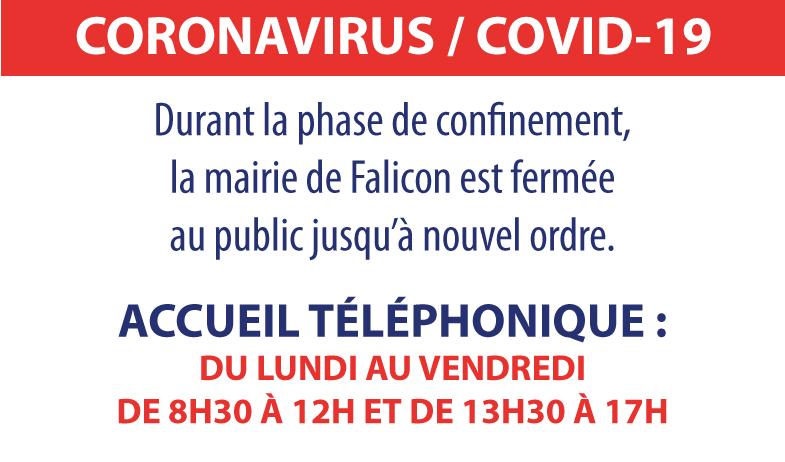 Plan de continuité de l'activité à la Mairie de Falicon